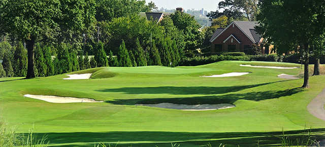 A view of hole #7 at Cherokee Country Club.