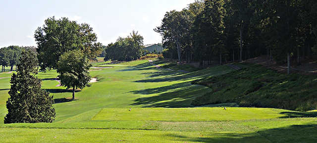 A view from tee #17 at Cherokee Country Club.