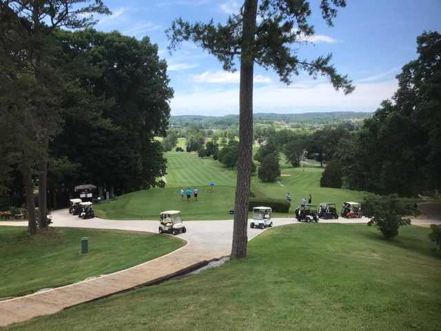 A view from Beaver Brook Golf & Country Club.