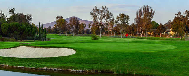 A view of hole #4 at Chula Vista Golf Course.