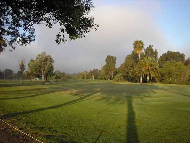 A view from Chula Vista Golf Course.