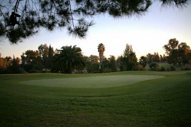 A view of a hole at El Prado Golf Courses.