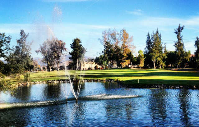 A view over the water from El Prado Golf Courses.