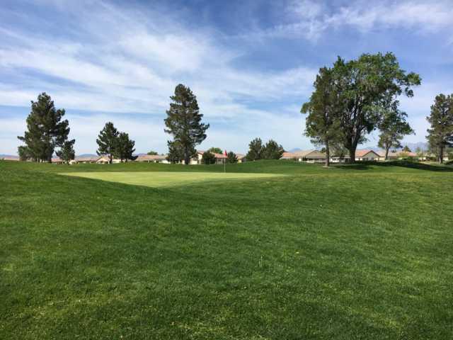 A view of a green at Ashwood Golf Club.
