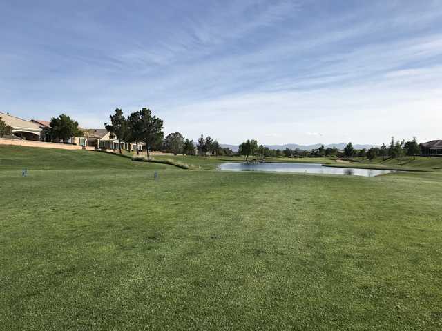 A view of a tee at Ashwood Golf Club.