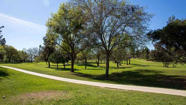 A view from a tee at St. Mark Executive Golf Course.