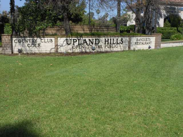 A view of the entrance area at Upland Hills Country Club.