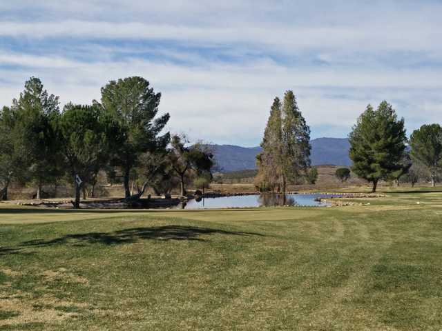 A view of a hole at Warner Springs Ranch.