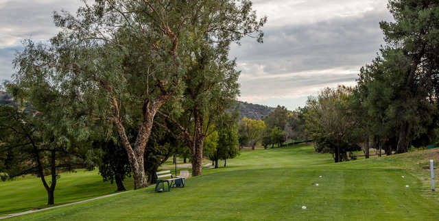 A view from a tee at Western Hills Golf & Country Club.