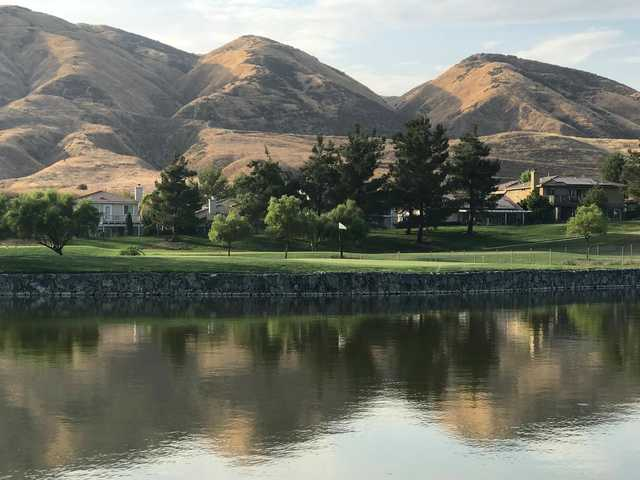 A view over the water from Yucaipa Valley Golf Club.