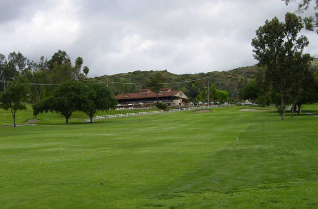 A view from the 9th fairway at Castle Creek Country Club.