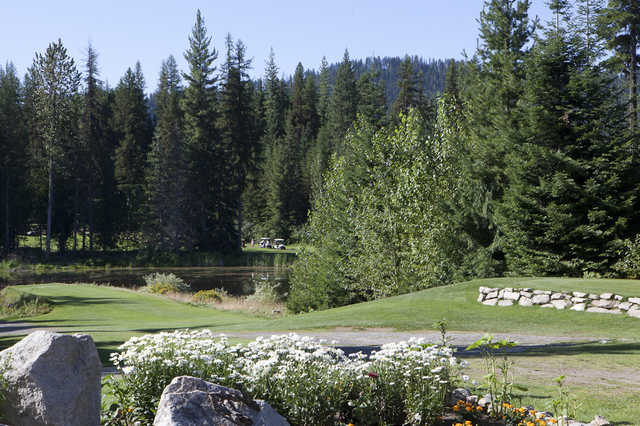 A view from Priest Lake Golf Club