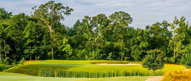 A view of a hole at Country Club of Jackson.