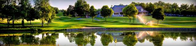 Panoramic view from The Golf Club at Thornapple Pointe