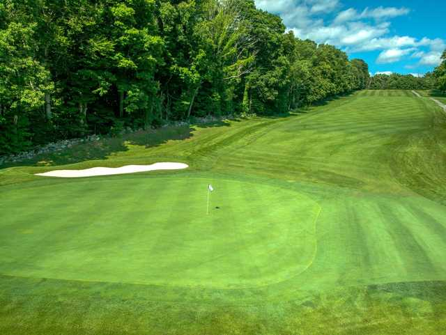 A view of a hole at Putnam County Golf Course.