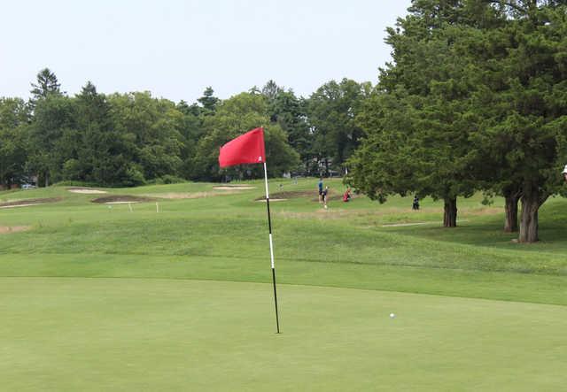 A view of a hole at Eisenhower Park Golf Course (Metropolitan PGA Junior Tour).