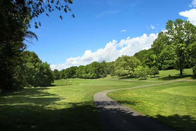 A view from Van Cortlandt Park Golf Course.