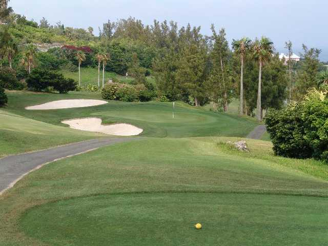 A view from tee #13 at Turtle Hill Golf Club.
