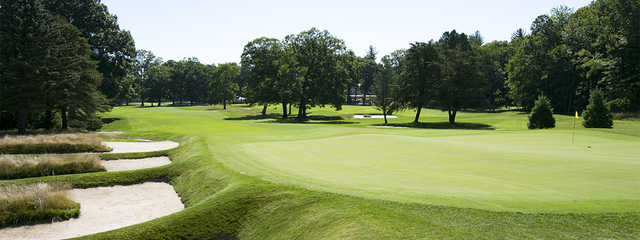 A view of the 8th hole at Keney Park Golf Club.