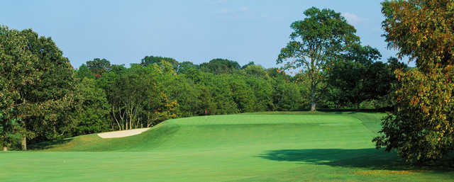 A view of a green at Camargo Club.