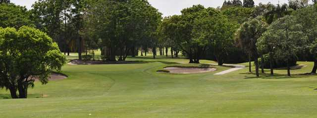 A view of a green at Lake Wales Country Club.