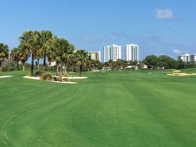 A view from North Palm Beach Country Club.