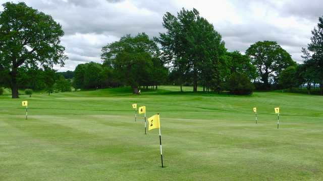 A view from the putting green at Marton Meadows Golf Course