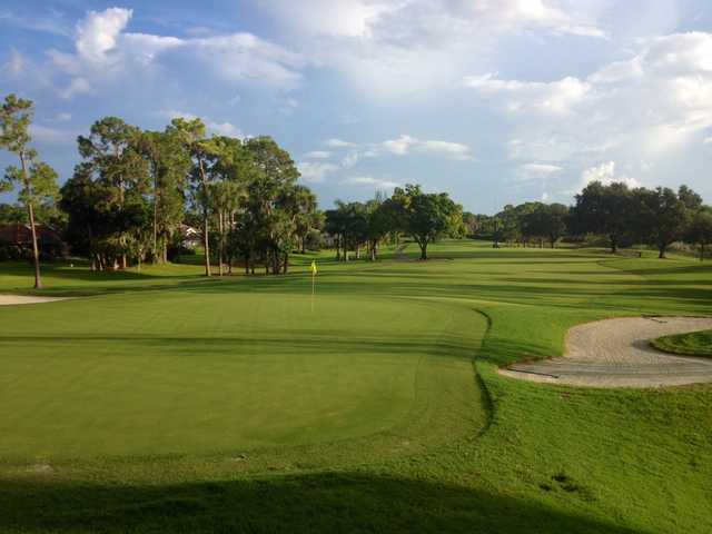 A view of hole #5 at Royal Palm Country Club.