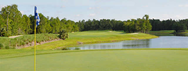 A view from a green at Cedar Hammock Golf & Country Club.