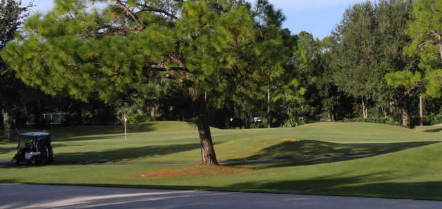 A view of a hole at Hunter's Ridge Country Club.
