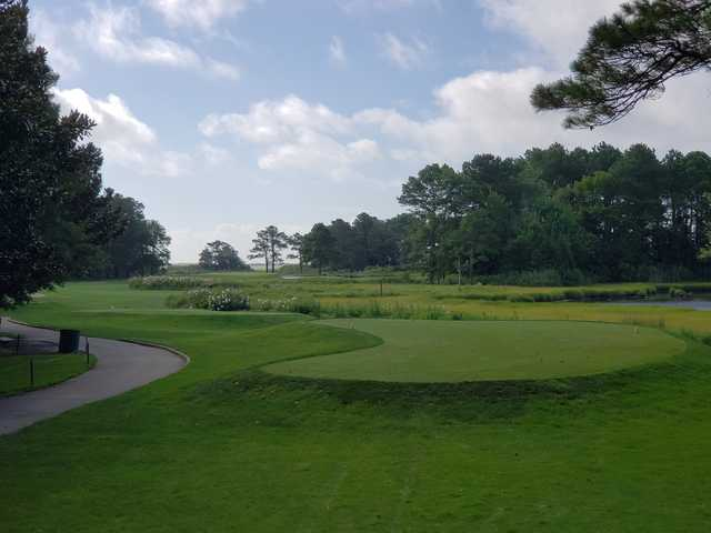 A view of tee #10 at Eagle's Landing.