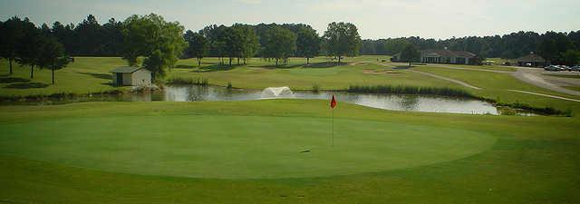 A view of a hole at Frances E. Miller Memorial Golf Course.