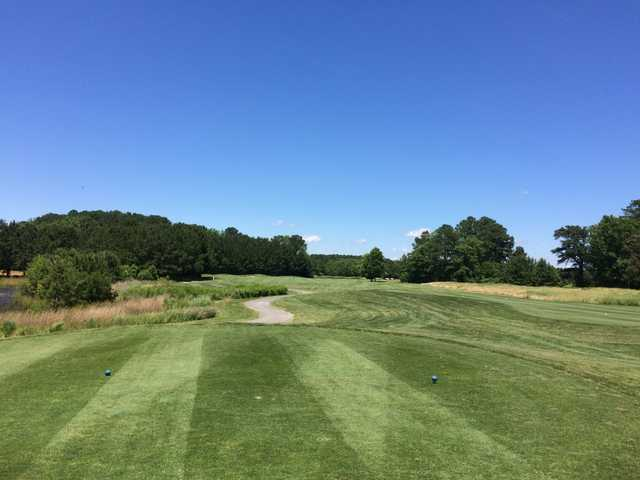 A view from tee #16 at Great Hope Golf Course.