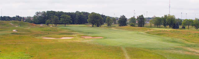 A view of a fairway at The Meadows.