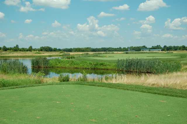 A view of a hole at Neshanic Valley Golf Course.