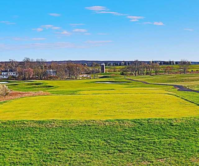 A view of tee #7 at Meadow from Neshanic Valley Golf Course.