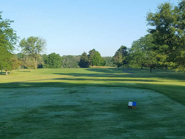 A view from a tee at Reid Park Golf Club.