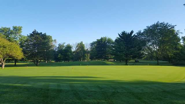 A view of the practice putting green at Reid Park Golf Club.