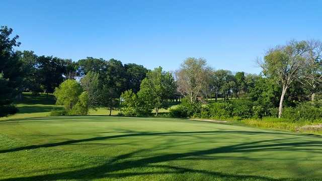 A view of the 4th green at North Course from Reid Park Golf Club.