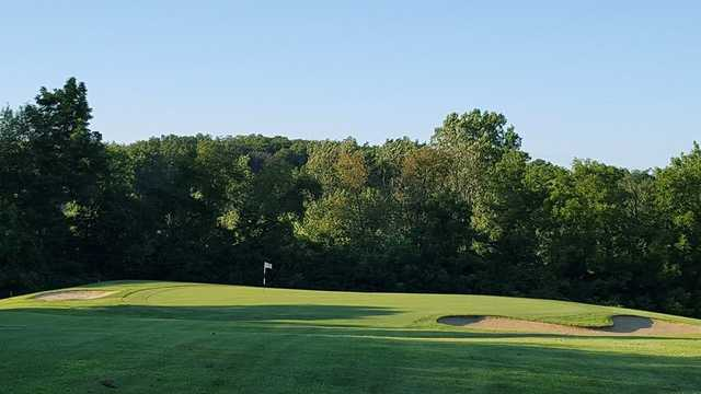 A view of hole #17 at North Course from Reid Park Golf Club.