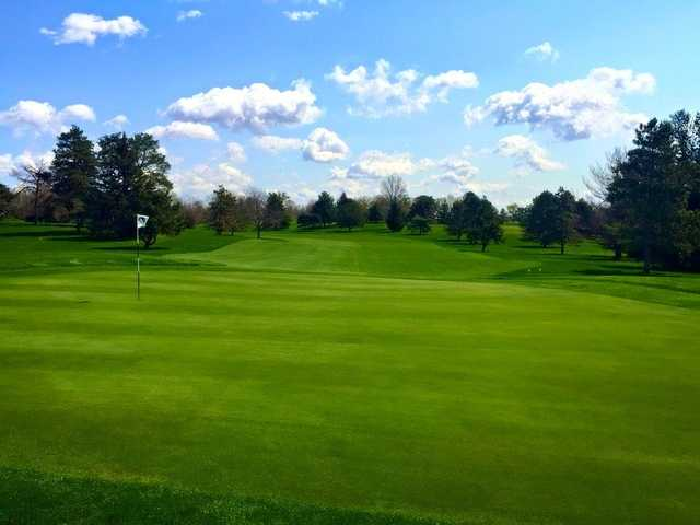 A view of hole #3 at South Course from Reid Park Golf Club.