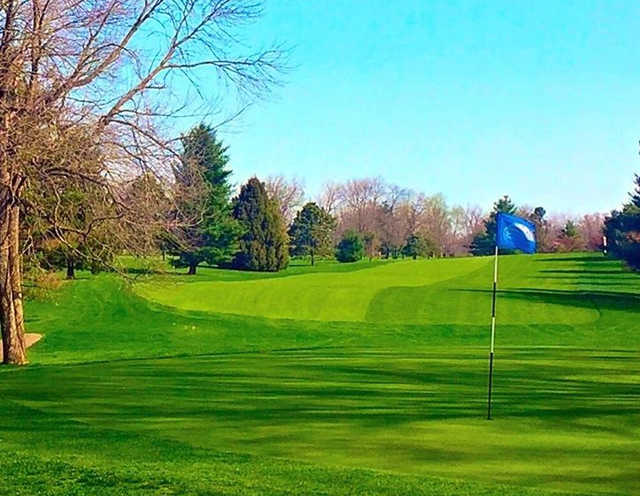 A view of hole #10 at South Course from Reid Park Golf Club.
