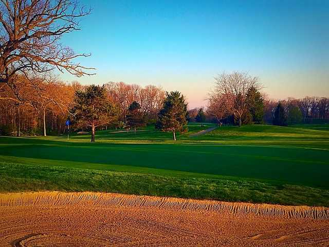 A view of the 7th hole at North Course from Reid Park Golf Club.