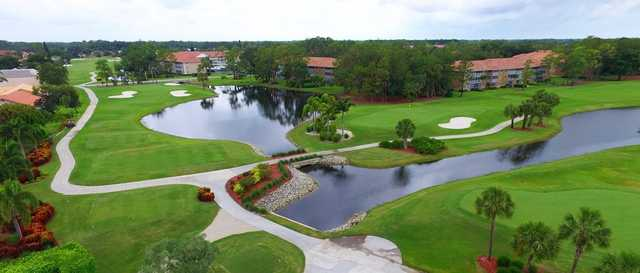 A view of three holes at Royal Wood Golf & Country Club.