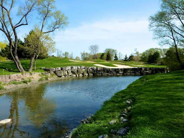 A view of hole #17 at Royal Woodbine Golf Club.