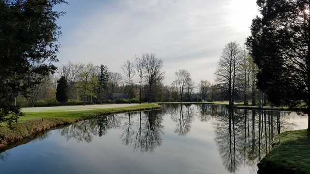 A view over the water from Vineyard Golf Course.