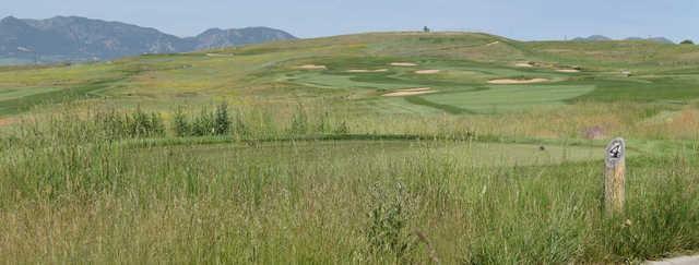 A view of tee #4 at Walnut Creek Golf Preserve.