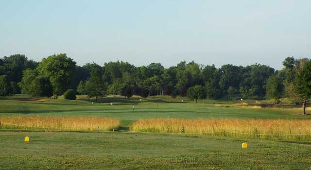A view from the 9th tee at Westchester Golf Course.