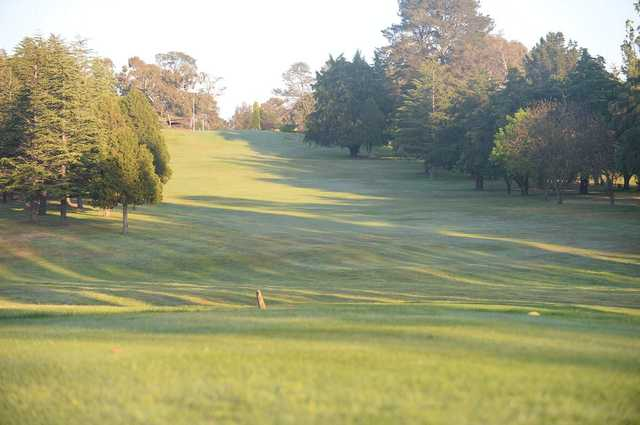 Armidale Golf Club: View from the 9th hole