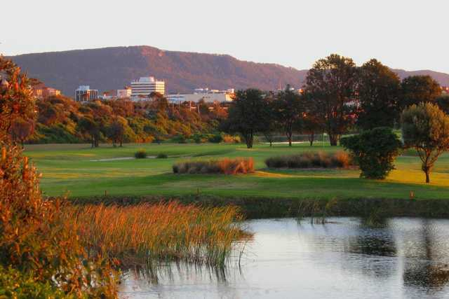 View from Wollongong GC